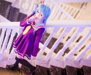 Cosplay - NO GAME NO LIFE 白妹